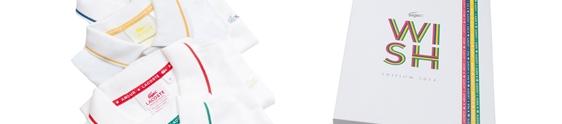 Lacoste aposta em boas energias na Wish Edition 2014