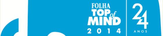 Prêmio Folha Top of Mind 2014 apresenta novidades