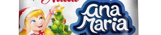 Ana Maria apresenta versão natalina de bolinho recheado