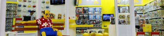 Lego abre lojas-conceito em Salvador e Recife