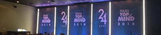 Prêmio Folha Top of Mind premia marcas mais lembradas