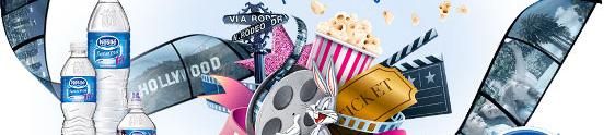 """""""Viagem de Cinema"""" na promo da Nestlé Pureza Vital"""
