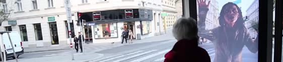 SKY leva zumbis para ponto de ônibus em Viena