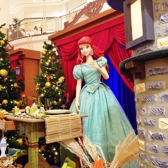 NorteShopping - Magia de Natal - Princesas Disney (Ariel)