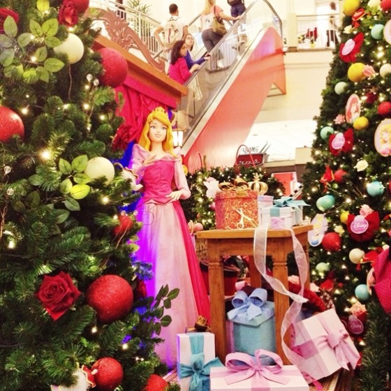 NorteShopping - Magia de Natal - Princesas Disney (Aurora)