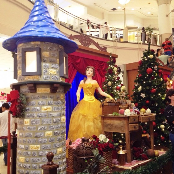 NorteShopping - Magia de Natal - Princesas Disney (Bela)