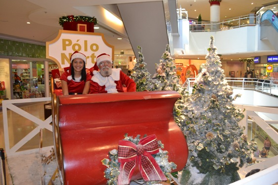 Papai Noel _Madureira Shopping