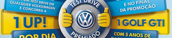 """VW dá início à ação promocional """"Test-drive premiado"""""""