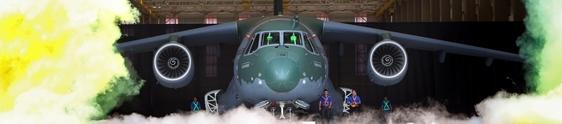 Netza assina Rollout do avião KC-390 da Embraer