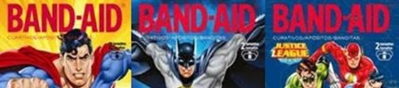 Band-Aid cria linha inédita da Liga da Justiça