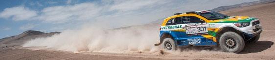 Brasil terá cinco competidores no Rally Dakar