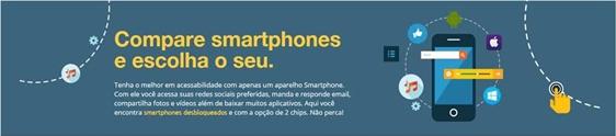 Lojas Colombo cria app para comparar smartphones