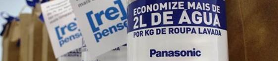 Panasonic presenteia consumidores com água
