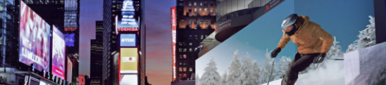 Google inaugura outdoor digital gigante na Times Square