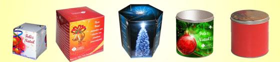 Panetones personalizados em alta como brinde natalino