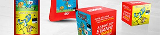 """MR ativa ação promo """"Assine & Ganhe"""" para a SKY"""
