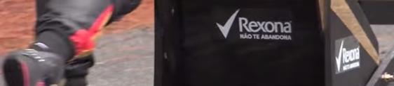 Rexona desafia youtuber com corrida de rolimã