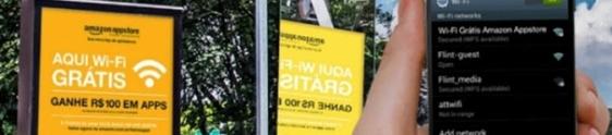 Amazon leva Wi-Fi grátis a pontos de ônibus de SP