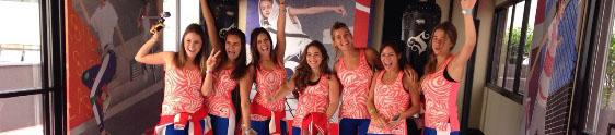 Stella Sport Adidas reúne action girls em academia