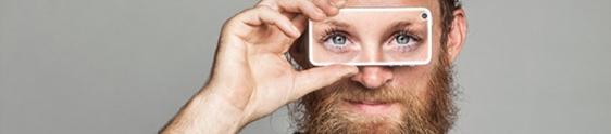 """App permite """"emprestar"""" a visão para deficiêntes visuais"""
