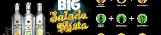 "Bacardi leva a ""Big Salada Mista"" a Pernambuco e Bahia"