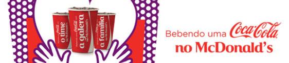 Coca-Cola, McDonald's e Twitter juntos em ação promo
