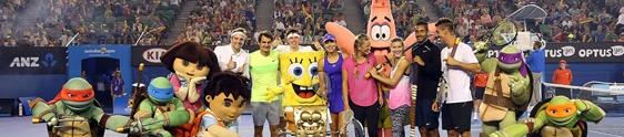 Ações promo marcam a abertura do Australian Open