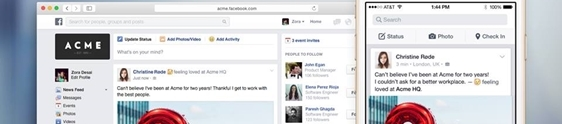 Facebook at Work inicia fase de testes