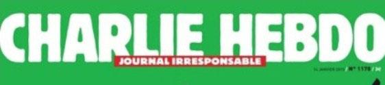 Dinap traz a revista Charlie Hebdo para o Brasil