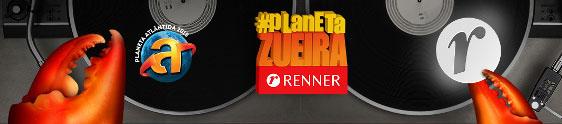 Renner leva a maior torre de selfies ao Planeta Atlântida