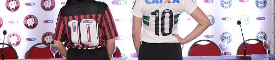 TIM vai patrocinar Atlético e Coritiba
