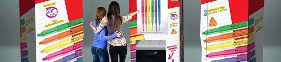 Faber-Castell leva branding machine a universidades de SP
