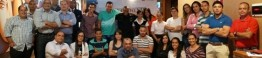 Equipe do Metropolitan com o Subtenente C. Soares_d