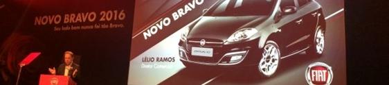 Fiat realiza evento de lançamento do Novo Bravo 2016