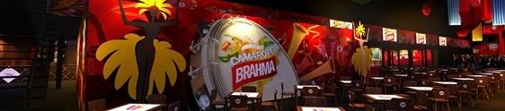 Camarote Brahma reúne grandes marcas
