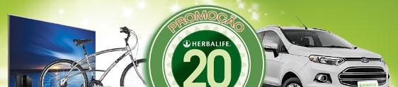 Herbalife celebra 20 anos de Brasil com ação promo