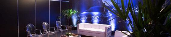 The Front inova em evento da Mercedes-Benz
