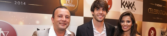 Kaká fecha parceria com a Midway Labs USA