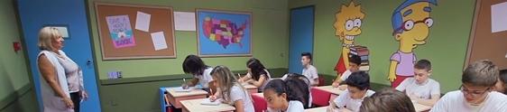 Tilibra leva sala de aula dos Simpsons para São Paulo