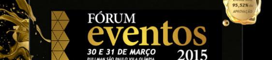 Fórum Eventos debate mercado M.I.C.E