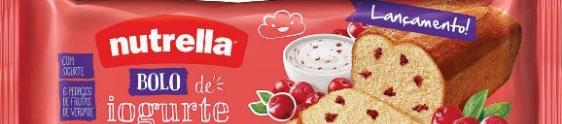 Nutrella lança bolos com sabores inovadores