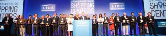 Shoppings da Sonae são reconhecidos no Prêmio Lide