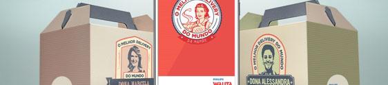 """Philips Walita apresenta o """"Maior Delivery do Mundo"""""""