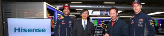 Infiniti Red Bull Racing e Hisense juntas em 2015