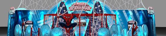 Frozen e Homem-Aranha desembarcam no West Shopping