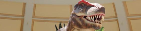"""O """"Mundo dos Dinossauros"""" está no Bela Vista"""