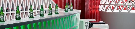 Heineken eleva experiência de consumo com Pop Up City