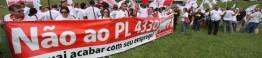 protesto contra o PL 4330_d