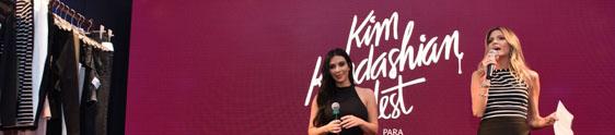 Evento da C&A apresenta coleção Kim Kardashian West
