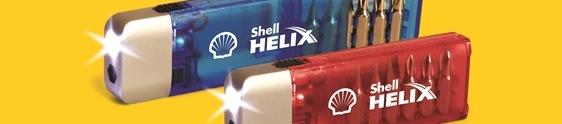 Kit de ferramentas é o brinde da ação promo da Shell